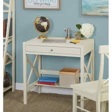 Simple Living Antique White X Desk - Free Shipping Today - Overstock.com -  16371798