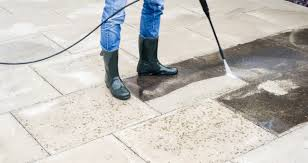 how to clean a patio simply paving