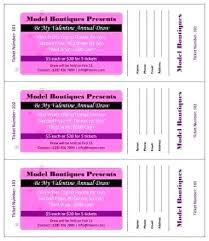 Avery Tickets Templates Free Raffle Ticket Templates In Word Mail Merge Create