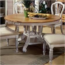 4508 816 hilale furniture wilshire antique white dining room dining table