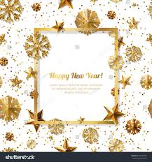 new year frame new year concept gold stars stock vector royalty free happy framefree frame for