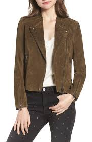 blank nyc multicolor no limit suede moto jacket lyst view fullscreen