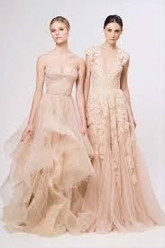 peach wedding dress. Peach and Lavender Wedding Dresses mywedding