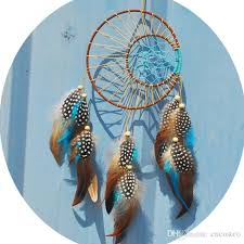 2018 newest handmade dream catcher with feathers car wall hanging decoration gift home room decor dreamcatcher indian double circle b941q from cncostco
