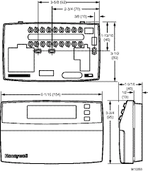 honeywell chronotherm 3 thermostat wiring diagram wiring diagrams honeywell rth3100c thermostat wiring diagram