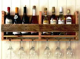 wine glass rack under cabinet wooden ikea
