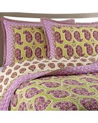 SPECTACULAR Deal on Goa Cotton Voile Full/queen Quilt Set In Lilac & Goa Cotton Voile Full/queen Quilt Set In Lilac Adamdwight.com