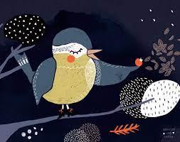 Swantje & Frieda | Bird illustration, I like birds, Poster prints