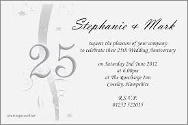 exles of 25th wedding anniversary invitations lovely invitation wording for anniversary party save anniversary party