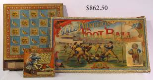 Old Wooden Board Games Hap Moore Antiques Auctions April 100 1000 49