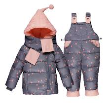 <b>2018 New Infant Baby</b> Winter Coat Snowsuit Bowknot Polka Dot ...