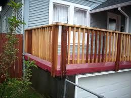 decking railing posts double post corner deck spacing deck corner post e26