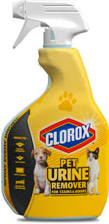 don t let a pet mess ruin your day use clorox pet urine remover to quickly remove messy stains and unpleasant smells indoors and out