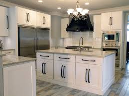 white shaker kitchen cabinets with granite countertops. Kitchen. Charming White Shaker Kitchen Cabinet Selections. Opulent U Shaped With Island Layout Cabinets Granite Countertops .