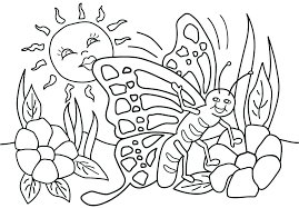 spring coloring pages print free printable day collections spri
