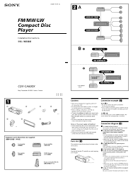 wiring diagram for sony xplod cd player wiring discover your sony cdx l410x wiring diagram