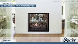 what is a direct vent fireplace. Superior DRT63ST Direct Vent See Through Gas Fireplace What Is A