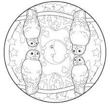 I Mandala Degli Animali Del Bosco Con Mandala Animali Da Colorare