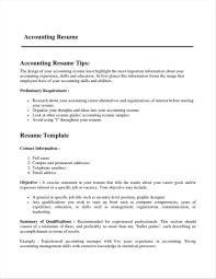 Fresh Sample Resume For 2 Years Experience In Accounting Onda