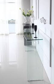 The most popular All Glass Console Table 41 With Additional Clear Console  Tables with All Glass Console Table