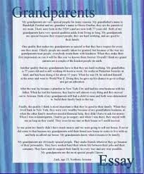 CLICK HERE lt  lt  lt  Essay about grandparents cause and effect essay examples Source Essays written about Grandparent including papers about United States and America