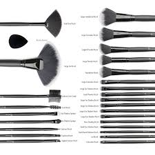 32 makeup brushes and their uses. make up brushes \u0026 beauty blender, start makers makeup cosmetics professional essential 32+1 piece brush set kits with foldable pouch and 32 their uses i