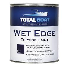 totalboat wet edge topside paint quart