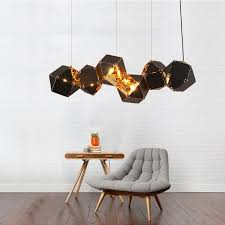 Living Room Pendant Light Magnificent Welles Pendant Light DNA Hanging Lamp Restaurant Pendant Lamp Living