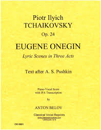 The international phonetic alphabet (ipa) can be used to represent the sounds of any language, and is used in dictionaries and language courses to show pronunciation. Tchaikovsky Eugene Onegin Russian Text With Ipa By Anton Belov Piano Vocal Score