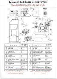 ebb coleman electric furnace parts hvacpartstore eb10b coleman electric furnace parts