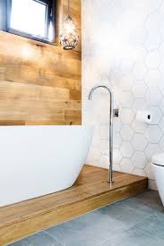 Free Bathroom Tiles Gorgeous Bathroom Timber Feature Panelling Behind Free Standing