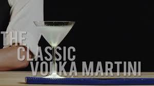 Martini Recipes Vodka How To Make The Classic Vodka Martini Best Drink Recipes Youtube