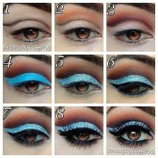 trendy makeup ideas the best makeup tutorials you must see sparkly makeupblue eye