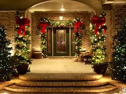 Terrific Front Porch Christmas Decorating Ideas Pics Design Ideas