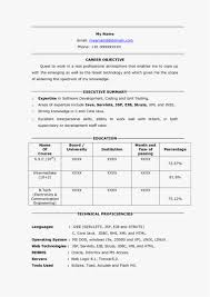 Resume For Java Developer Fresher Download Senior Java Developer