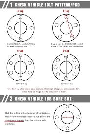 Ford 5 Lug Bolt Pattern Unique Ford Wheel Bolt Pattern Chart Ford 48 Lug To 48 Lug Conversion Wiring