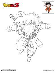 Coloriage Dragon Ball Z Gohan