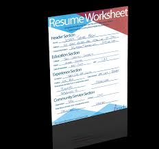 Resume Worksheet Teacher Resume 100 Minute Guide to Writing the Perfect Resume 81