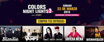 Color Night Lights Chile 2019 Colors Night Light 2 Blondie En Santiago