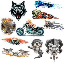 1 Pc Lot Joke Wolf Eagle Monster Sticker For Motorcycle Bike Car