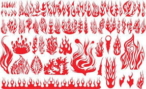 Flame Pattern Fascinating Flame Pattern Free Vector Download 4848 Free Vector For