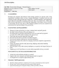 Travel Agent Job Description Classy 48 Sales Job Description Templates PDF DOC Free Premium