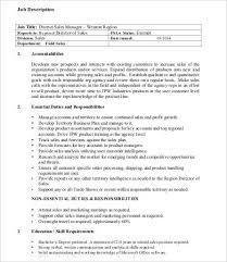 Travel Agent Job Description Custom 48 Sales Job Description Templates PDF DOC Free Premium