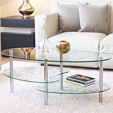 tier glass coffee table coffee tables