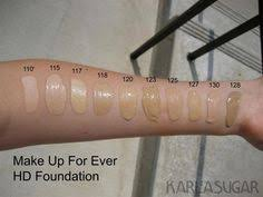 makeup forever hd 118 swatch beauty fzl99
