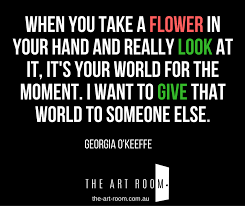 Georgia O Keeffe Quotes 46 Best Monday Inspiration Georgia O'Keeffe Quotes The Art Room