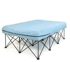 Queen Portable Bed Frame for Air Filled Mattresses with Bag Page