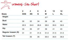 Lululemon Size Chart Wmns Montreal Shopping Flickr