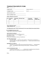 Charge Dispute Form Fill Online Printable Fillable
