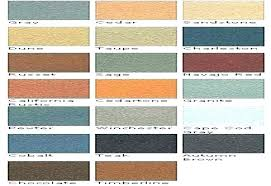 Cool Deck Colors Deck Painting Color Chart Paints Pool